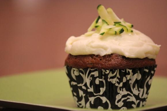 Sweet Zucchini Cupcakes - In Her Chucks