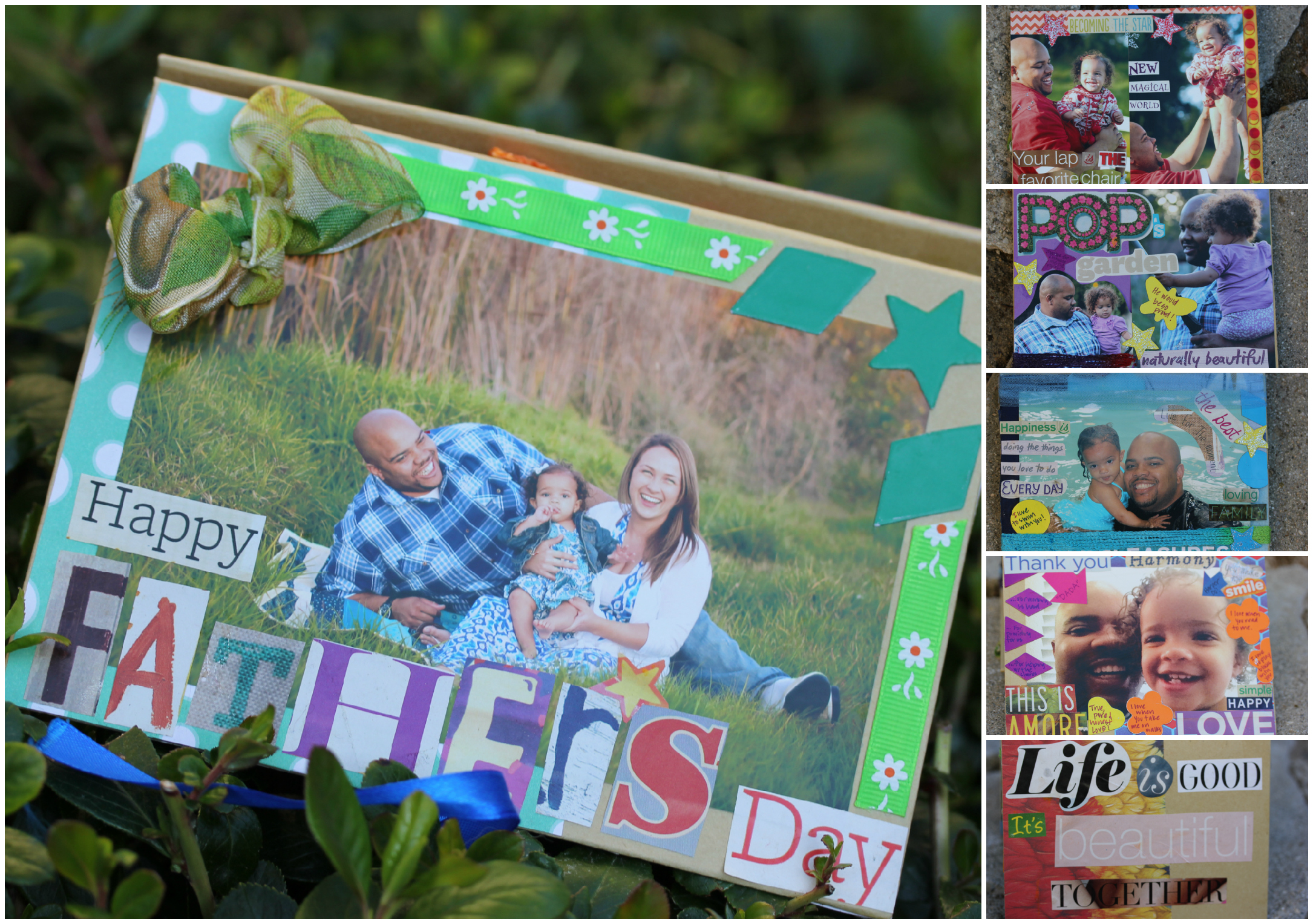 How to make scrapbook using recycled materials - This Project Was My Favorite Of All Three Because The Materials Were So Diverse They Included Recycled And Salvaged Ribbon Fabric Squares Allergen Free