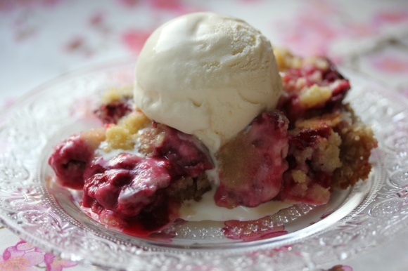 Pluot Crumble - In Her Chucks