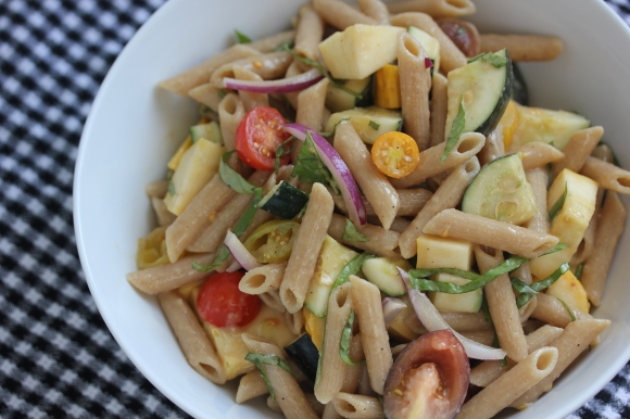 Summer Pasta Salad - In Her Chucks