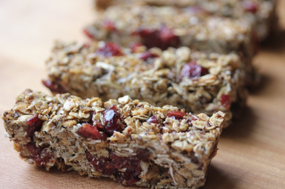 Homemade Granola Bars- In Her Chucks