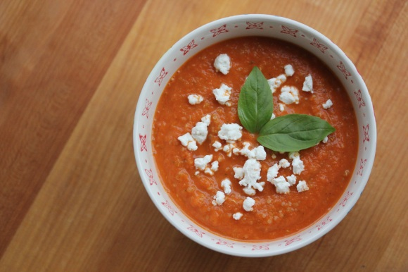 Tomato Basil Bisque - In Her Chucks