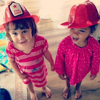 Cute Little Firefighters