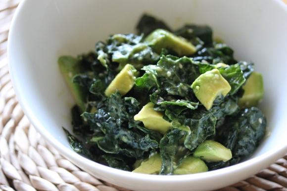 Kale Salad - In Her Chucks
